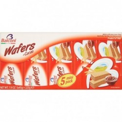 BALCONI WAFER CACAO 5X45 GR